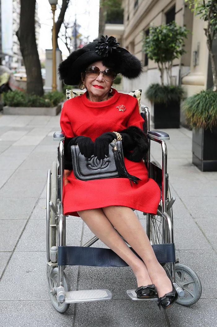 20 пенсионеров, которые одеваются лучше любых моделей