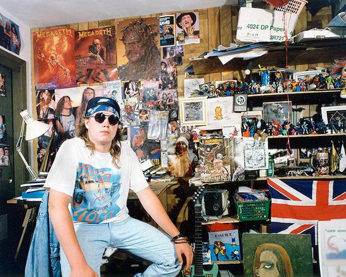 Комнаты подростков 1990-х годов: фотографии Adrienne Salinger