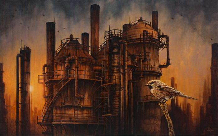 Постапокалиптические картины Brin Levinson