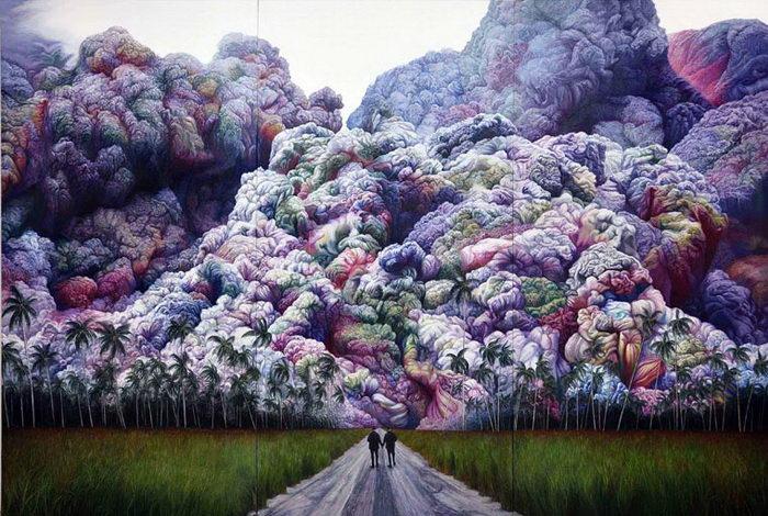 Сюрреалистические картины Shang Chengxiang