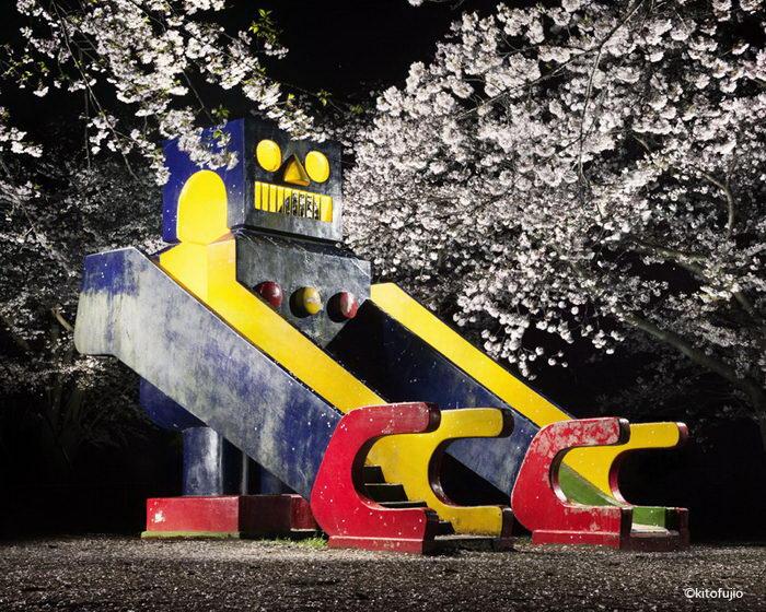 Детские смотровые площадки Японии в фотографиях Kito Fujio