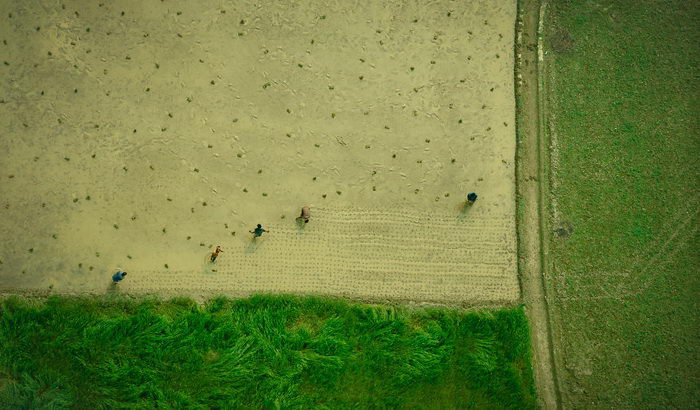 Бангладеш сверху в фотографиях Shamim Shorif Susom