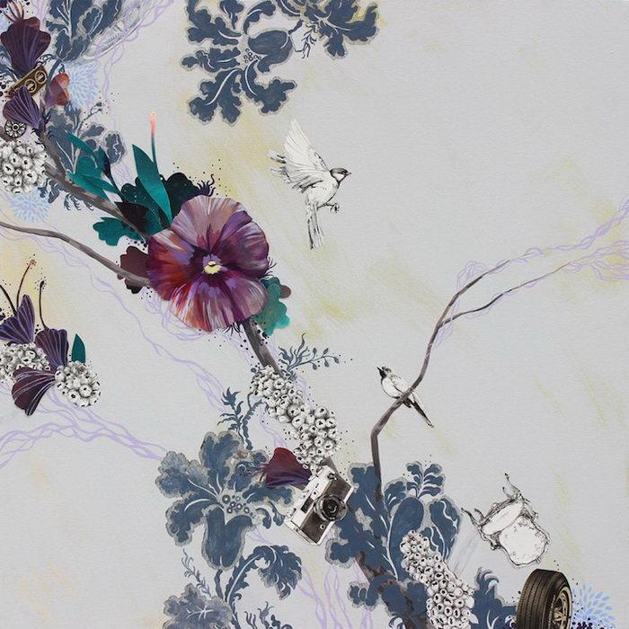 Природа и гаджеты: рисунки Lauren Matsumoto