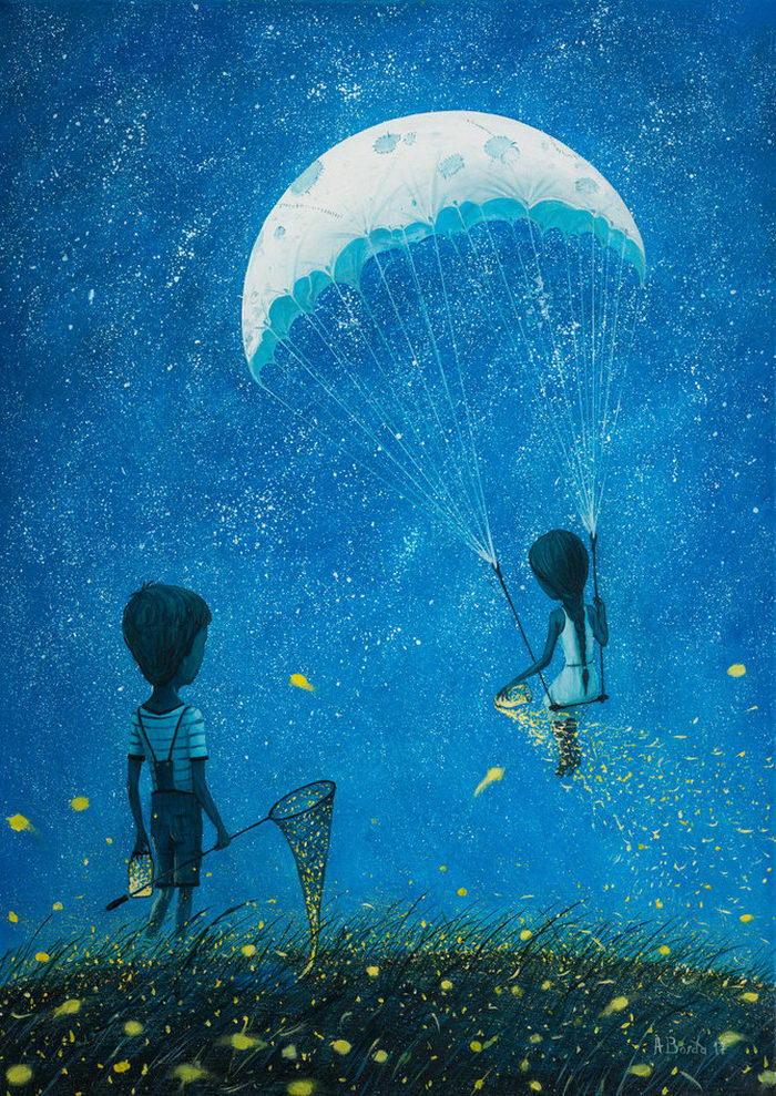 Романтические иллюстрации Adrian Borda