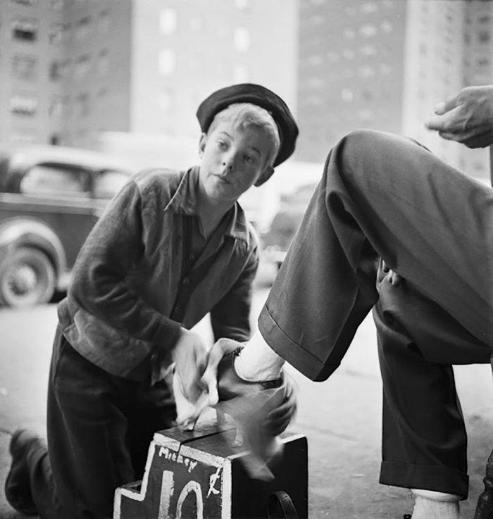 Фотографии Нью-Йорка 1940-1940 годов авторства Stanley Kubrick