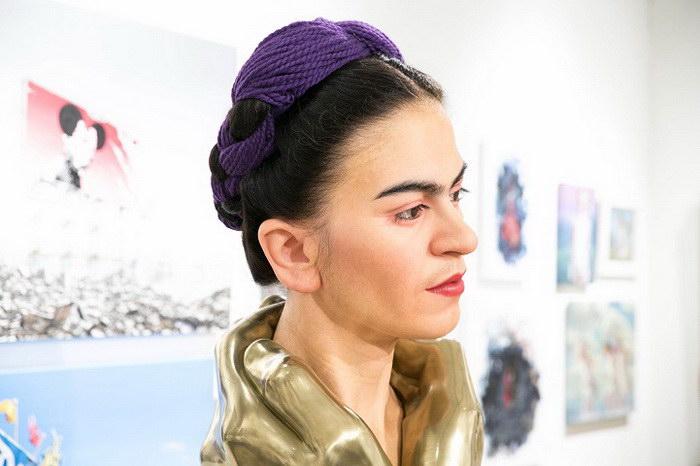 Невероятно реалистичная скульптура Фриды Кало