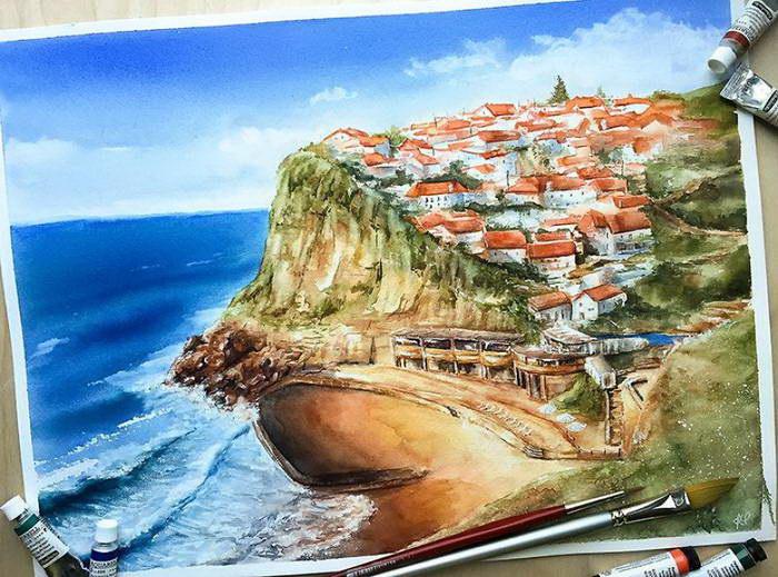 Календарь путешественника Ekaterina Mango