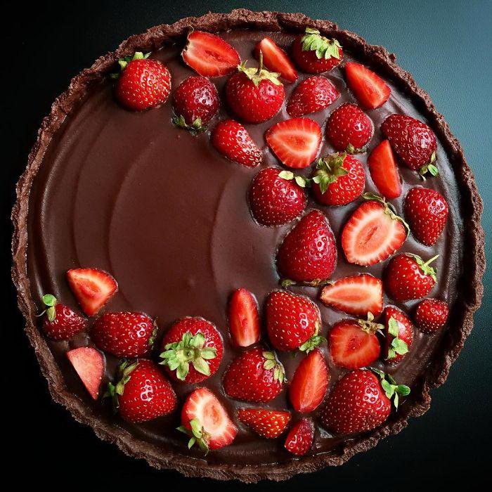 Красота выпекаемых пирогов Lauren Ko