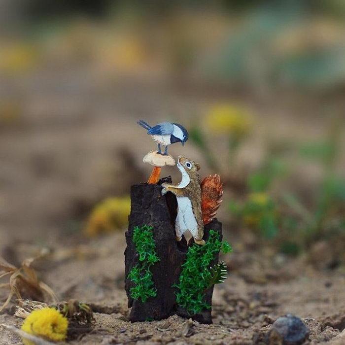 Бумажные птички Vaishali