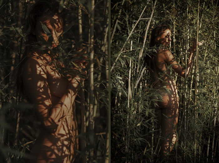 Обнаженные нимфы в фотографиях Neringa Rekasiute