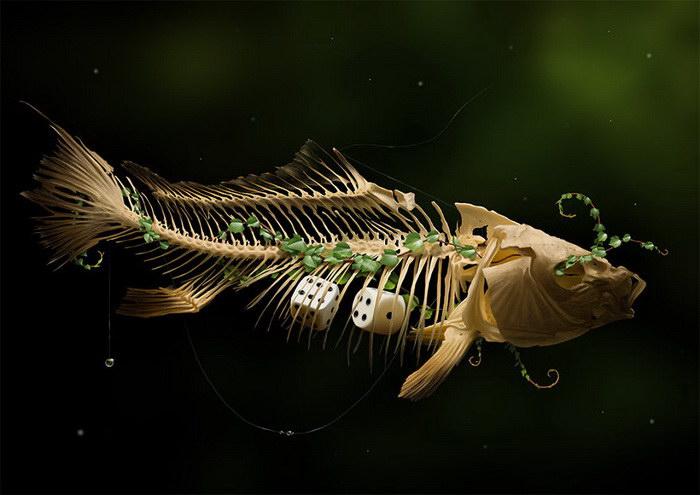 Реалистичные цифровые картины Jaime Sanjuan