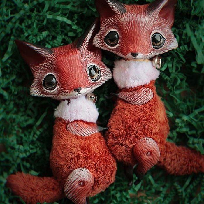 Очаровательные существа Anna Nazarenko