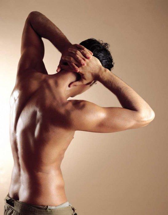 фото голого мужчины со спины