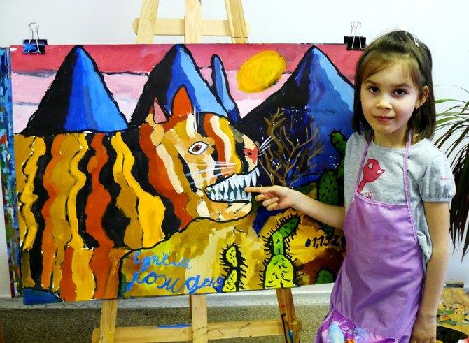Дети-художники из Уфы