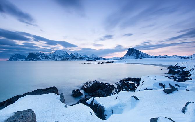Лофотенские острова в фотографиях Jens Fersterra