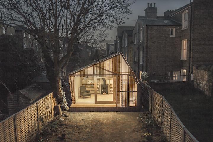 Уютный уголок для уединения в Лондоне