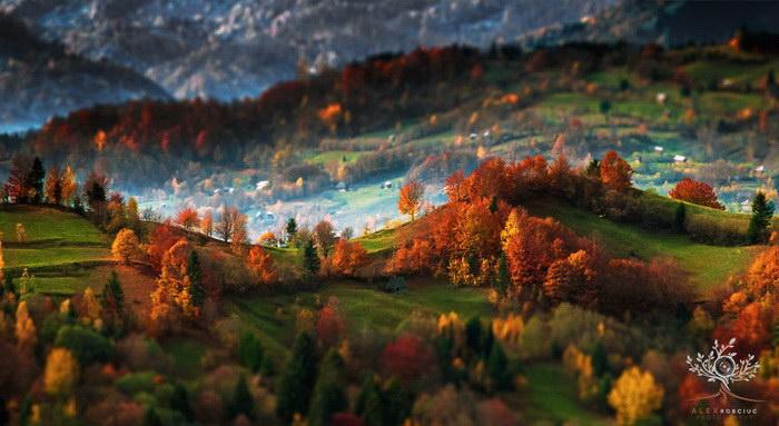 Пейзажи трансильвании в фотографиях