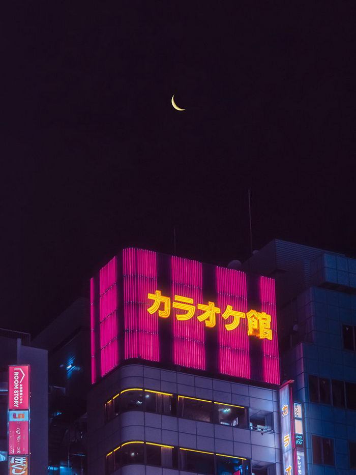 Ночной Токио в снимках Davide Sasso