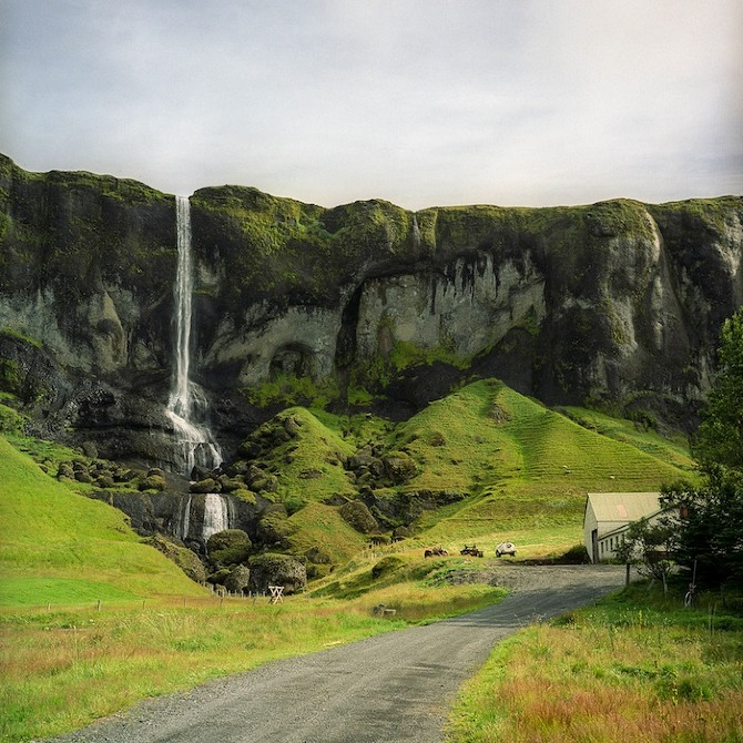 Исландия в фотографиях Peter Baker