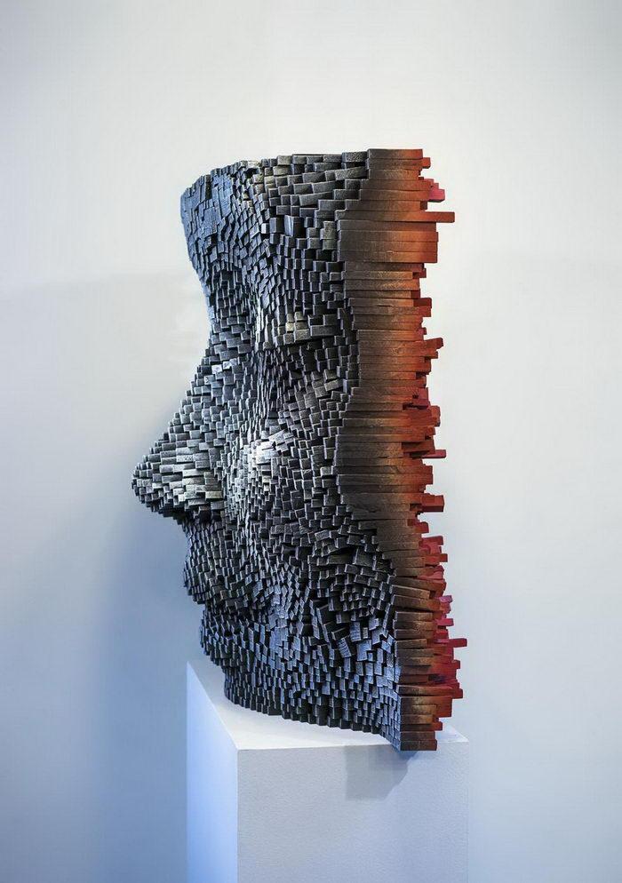 Деревянные скульптуры Gil Bruvel