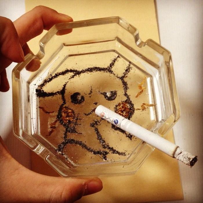 Сигаретные рисунки Shinrashinge