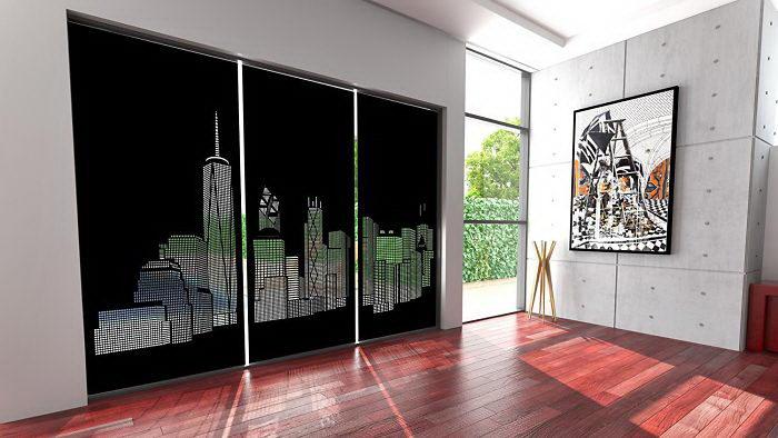 Оконные панели HoleRoll, позволяющие почувствовать себя жителем мегаполиса