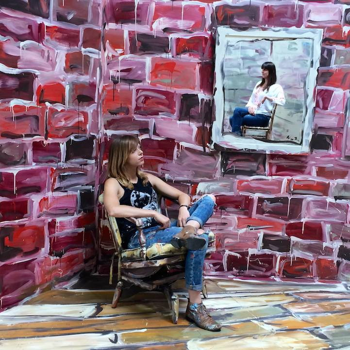 2D-комната Alexa Meade
