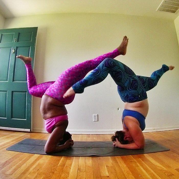 Йога для полненьких: Jessamyn Stanley и ее асаны