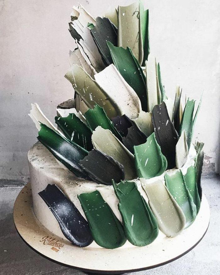Художественные торты: новый модный вид оформления в кулинарии