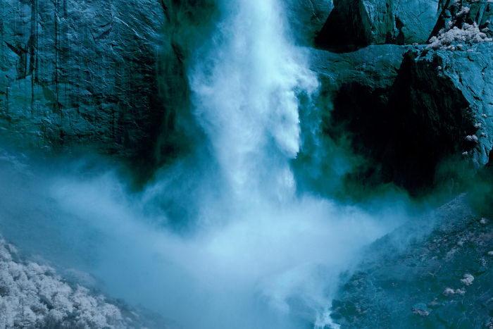 Инфракрасный парк Йосемити в фотографиях Ryan Berg
