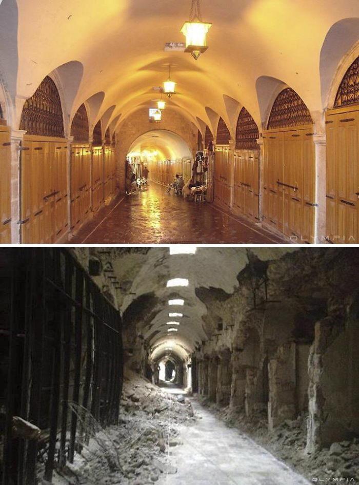 Сирия, Алеппо: до и после