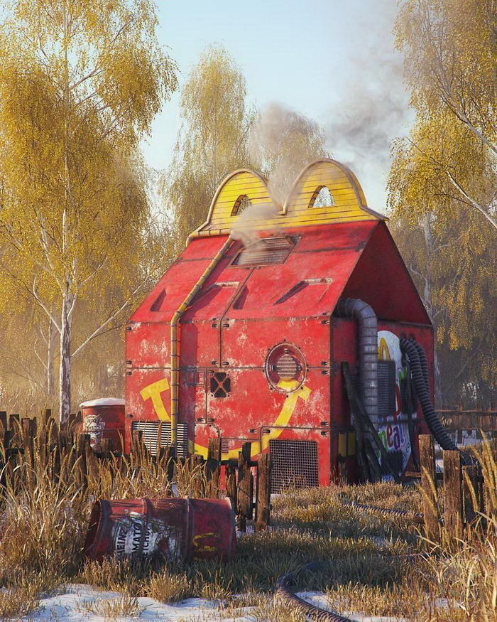 Конец поп-культуры: цифровые картины Filip Hodas