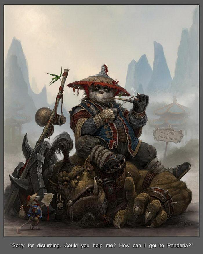 Эпичные иллюстрации Leohao73