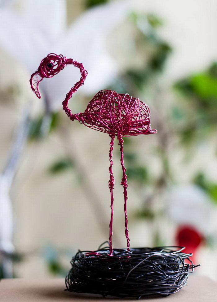 Железные скульптуры животных Nevena Atanasova