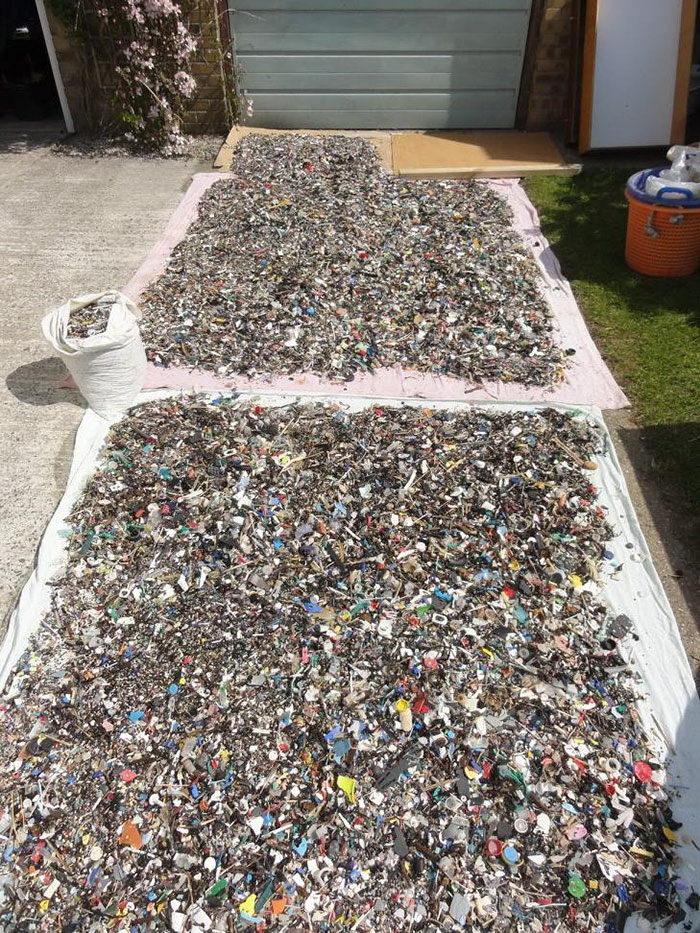 Искусство мусорного пластика: работы Rob Arnold
