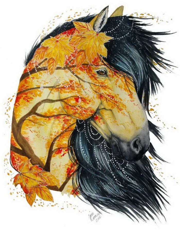 Яркие животные в иллюстрациях Jonna Lamminaho