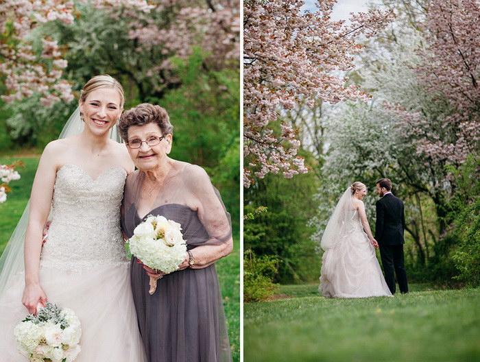 89-летняя бабушка стала подружкой невесты на свадьбе