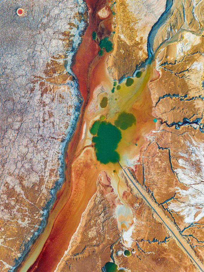 Мертвое море в фотографиях Tzvika Stein