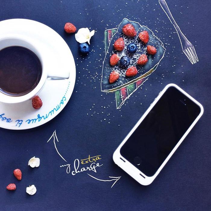 Аппетитные рисунки Cinzia Bolognesi