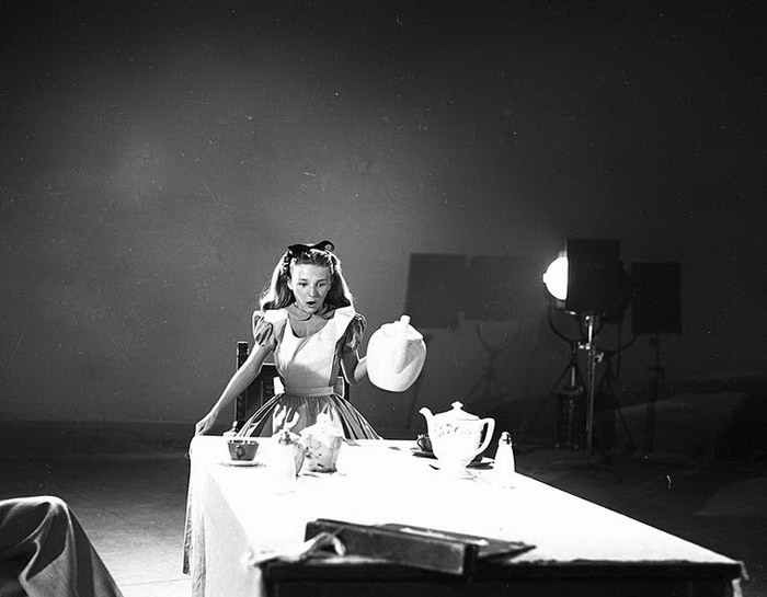 Актриса Kathryn Beaumont, с которой списали образ Алисы в стране чудес