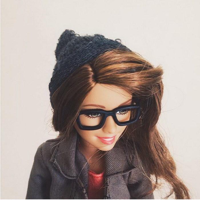 Барби-хипстер и ее шикарный Instagram