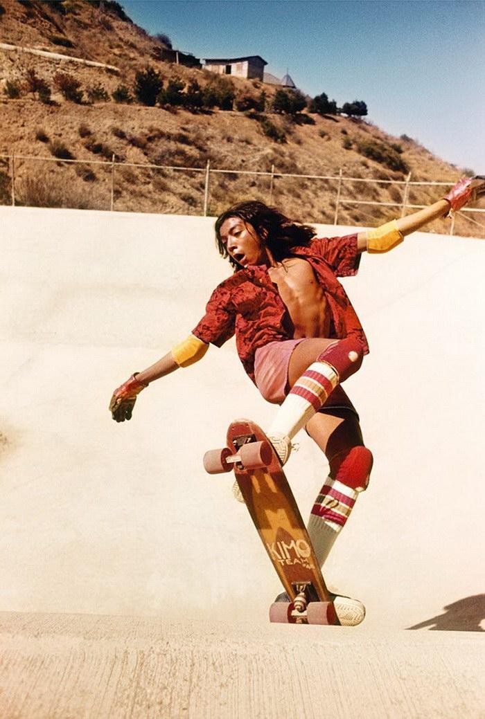 Калифорнийские скейтеры в фотографиях Hugh Holland