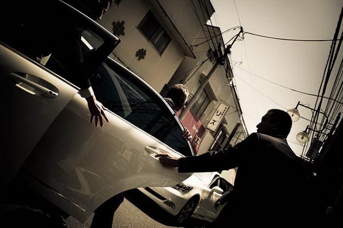 Японская мафия в фотографиях Anton Kusters