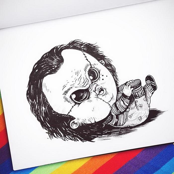 Маленькие ужасы Alex Solis