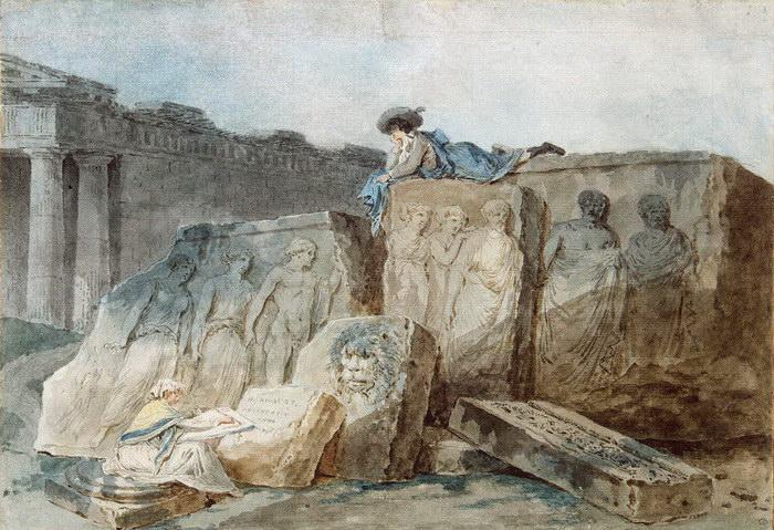 Раскопки XVIII века: картины Hubert Robert
