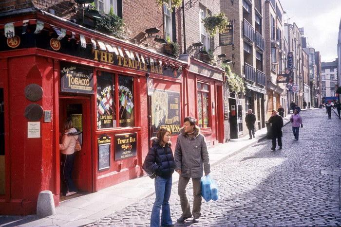 Эволюция улиц Дублина с 1861 года