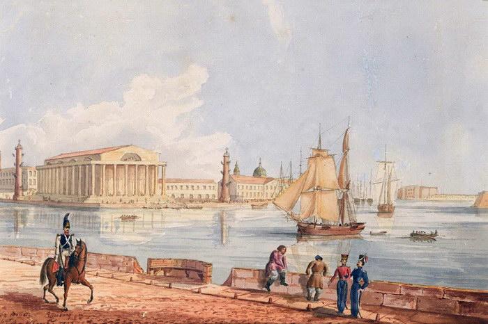 Гравюры и картины Санкт-Петербурга XVIII века Benjamin Paterssen