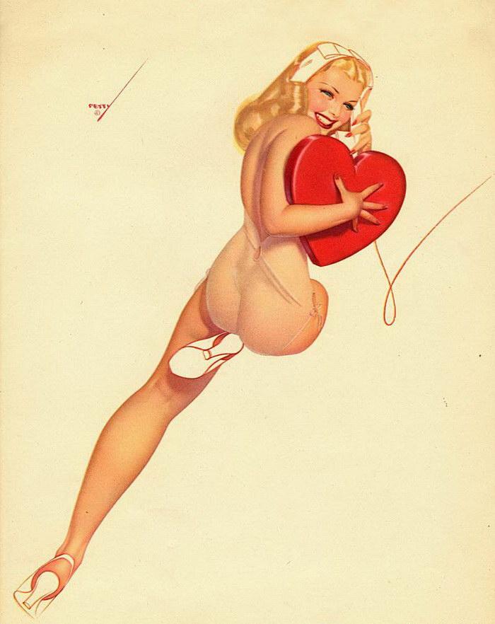Эротические открытки Alberto Vargas