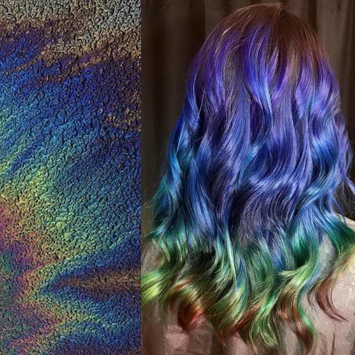 Цвет волос в зависимости от вдохновения: работы Ursula Goff