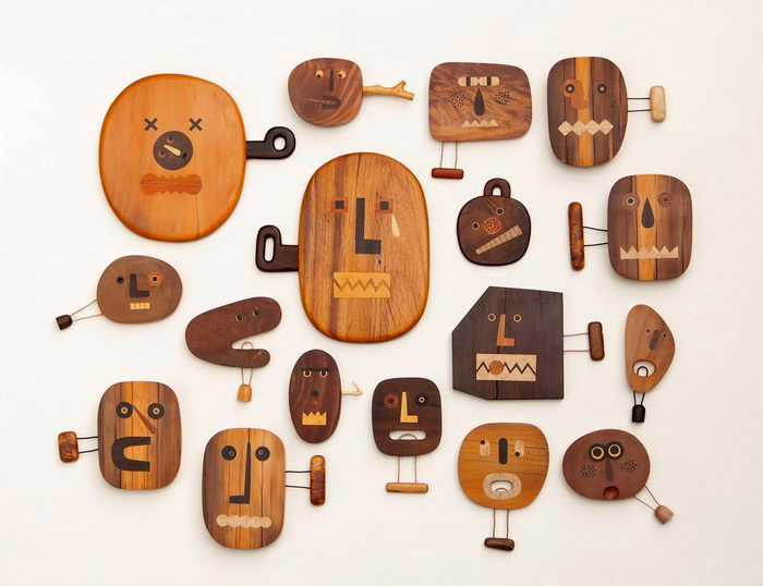 Деревянные фигурки Jui-Lin Yen